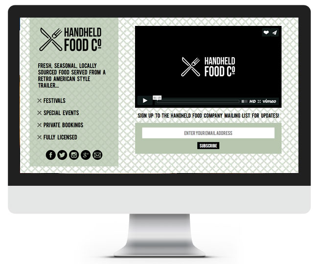 Handheld Food Co - web