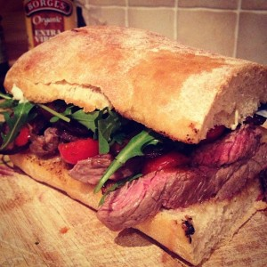 Instagram-steak-sandwich